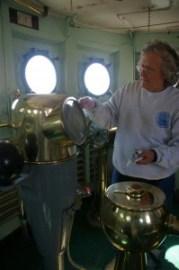 Lauren polishing brass