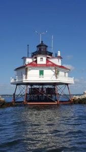 Thomas Point Lighthouse - Can you tell if the pickets are new or old?