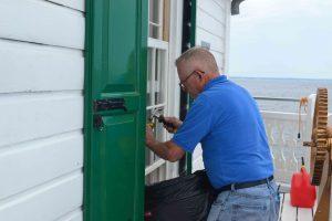 Hobie Repairs C.G. Room window