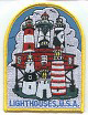 USA Lighthouses Patch