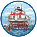 Thomas Point Artist Trading Coin