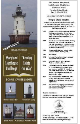 2011 Bonus Cruise Bookmark