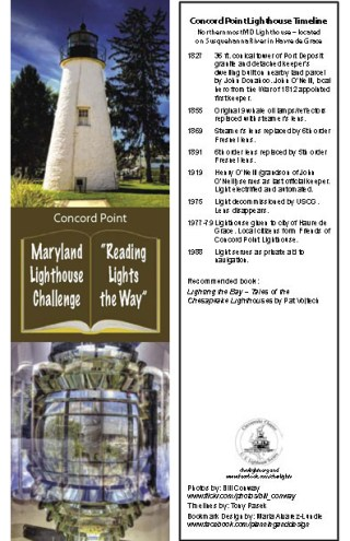Concord Point Bookmark