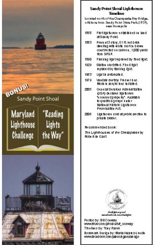 Sandy Point Bonus Bookmark