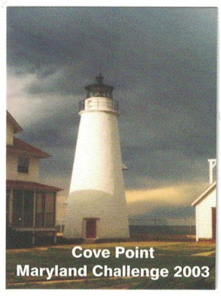 2003 Souvenir Stamp - Cove Point