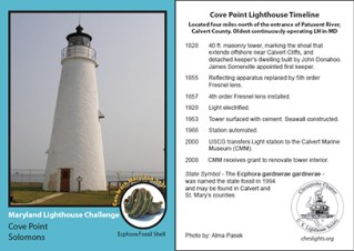 2009 Cove Point Card