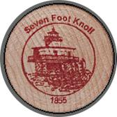 2005 Wooden Coin Souvenir-Seven Foot Knoll