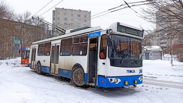 Балакирева троллейбус