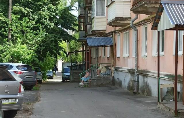 Благоустройство улица Мира