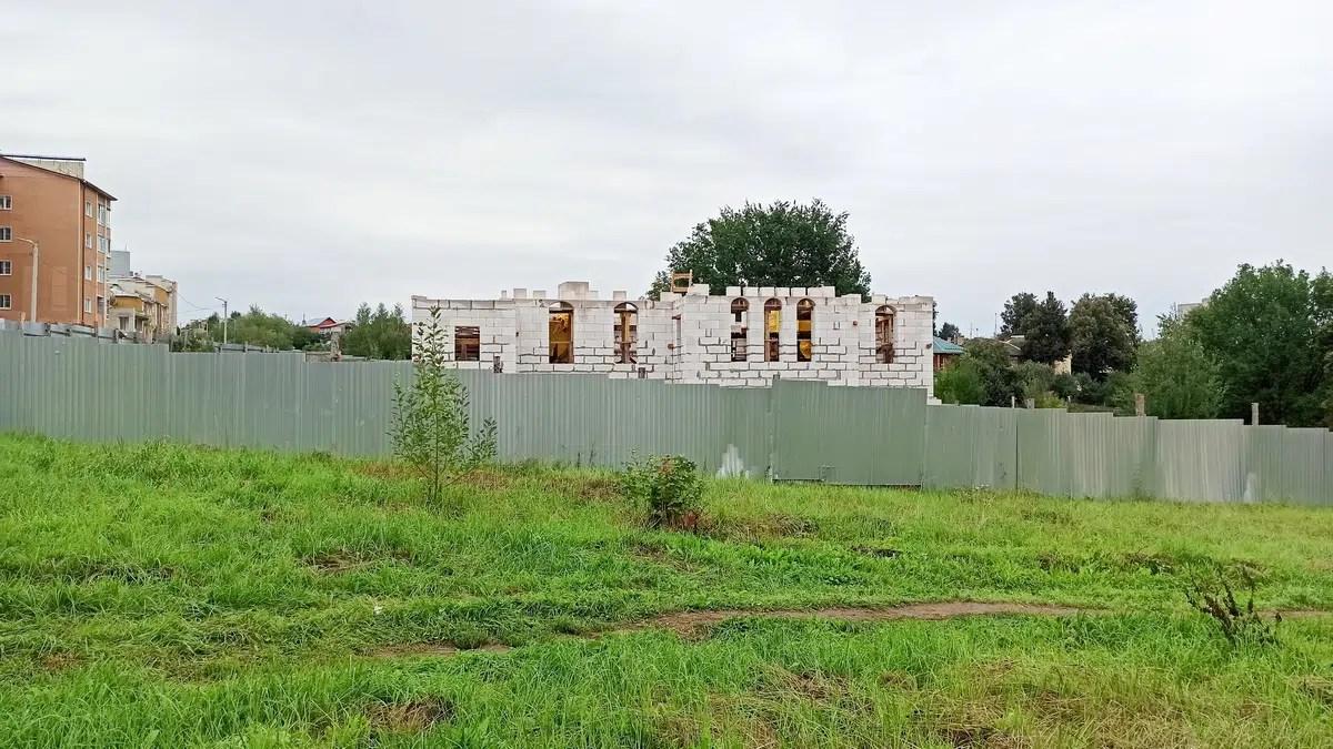 На Нижней Дуброве построят церковную школу или православный детсад
