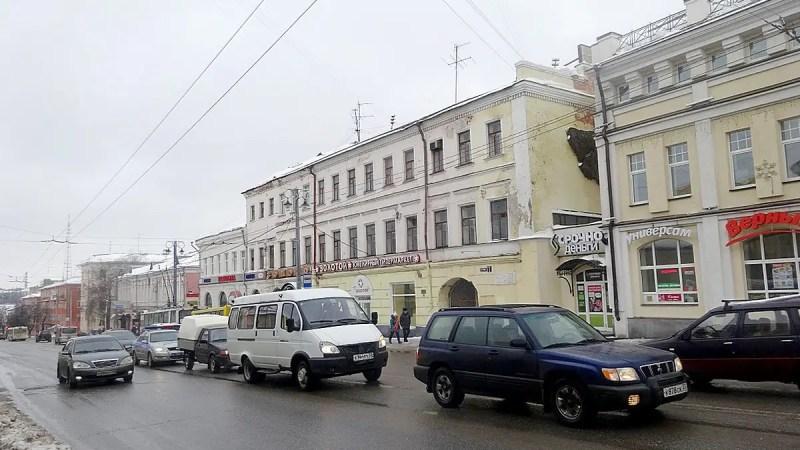Ремонт дома-памятника на улице Гагарина довел до суда