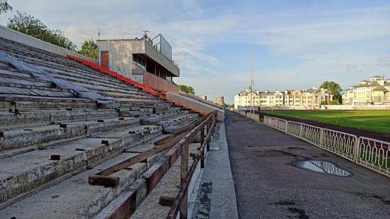 Когда во Владимире отремонтируют стадион «Лыбедь»?