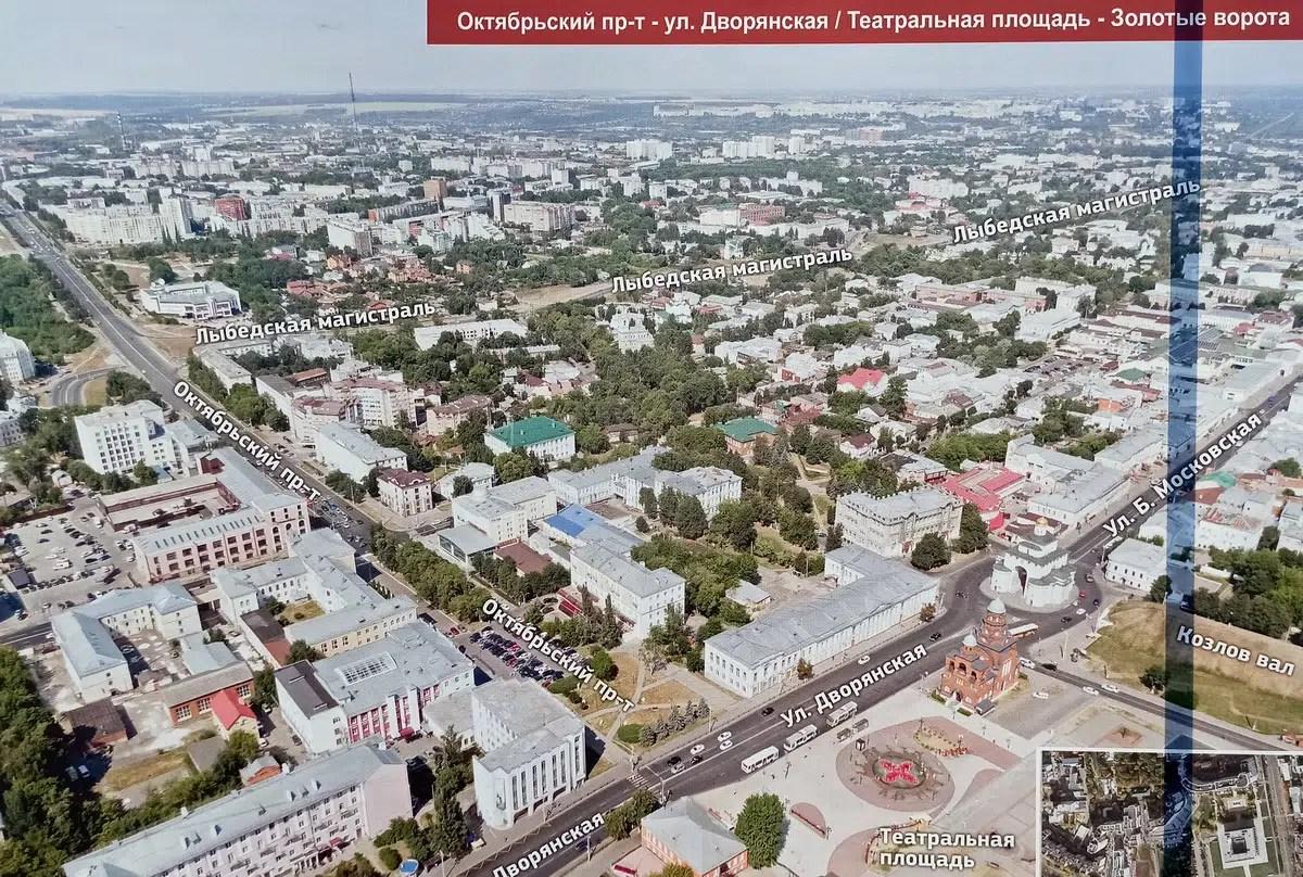 Шохин предложил Авдееву продлить Октябрьский проспект