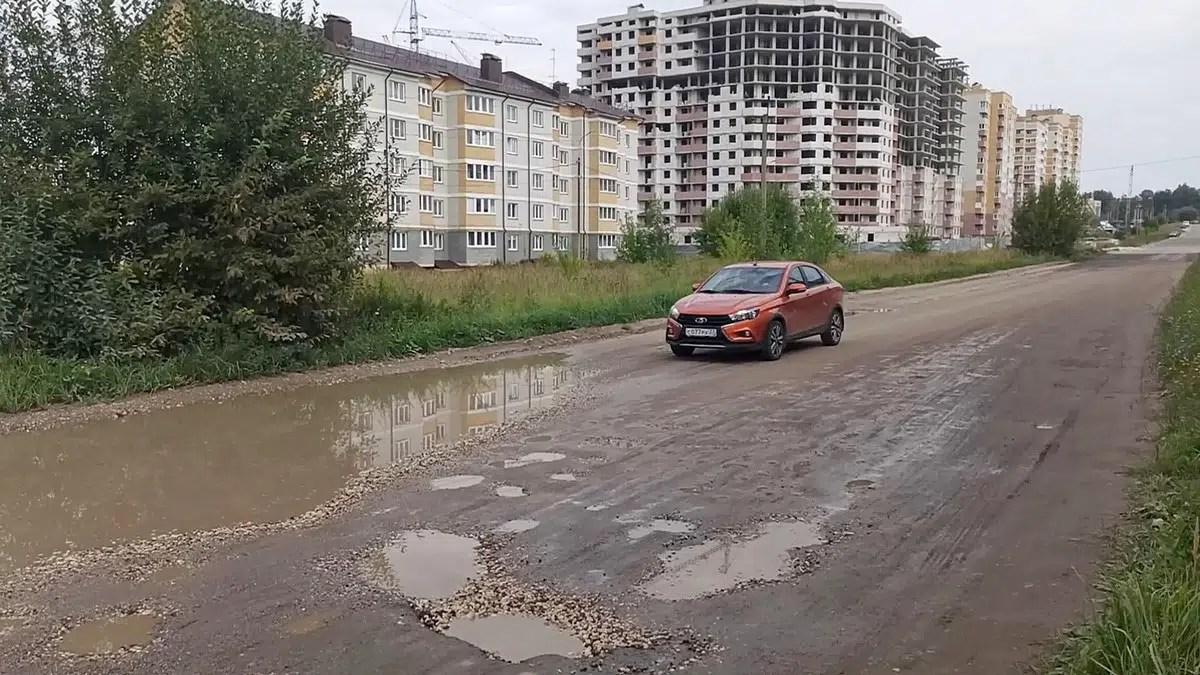 Дороги в Юрьевце, Пиганово и Мосино оказались в ухабе мэрского внимания