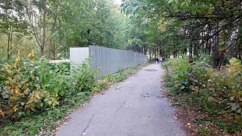 Гектар Козьего парка вырубят под детские площадки