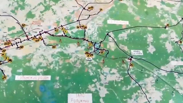 М-12 карта