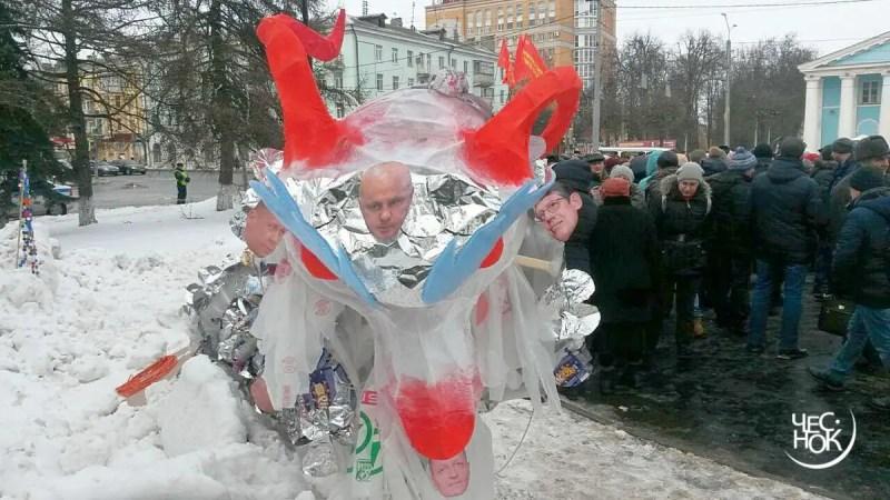 «Гидра, умри!». Владимирцы призвали Шохина и Сипягина к ответу за мусорный коллапс