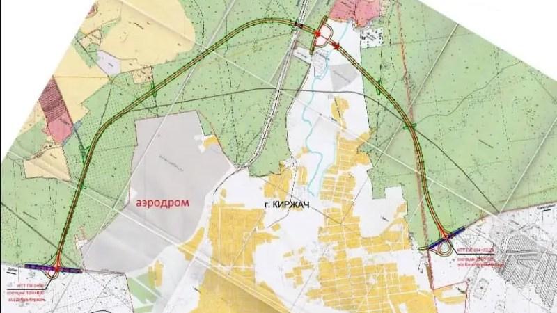 Тысяча жителей Киржача подписались против строительства объездной дороги по лесу
