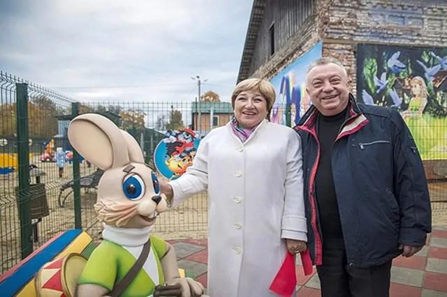 Олег Иванов и Ольга Хохлова