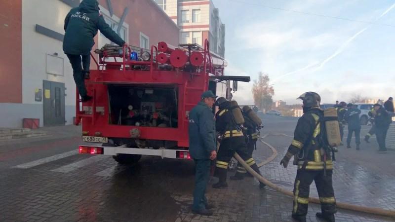 Во Владимире произошел пожар в фитнес-центре «Муравей»