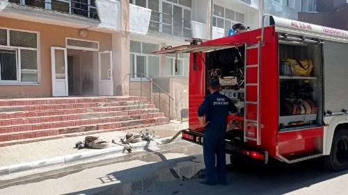 Во Владимире горела областная больница