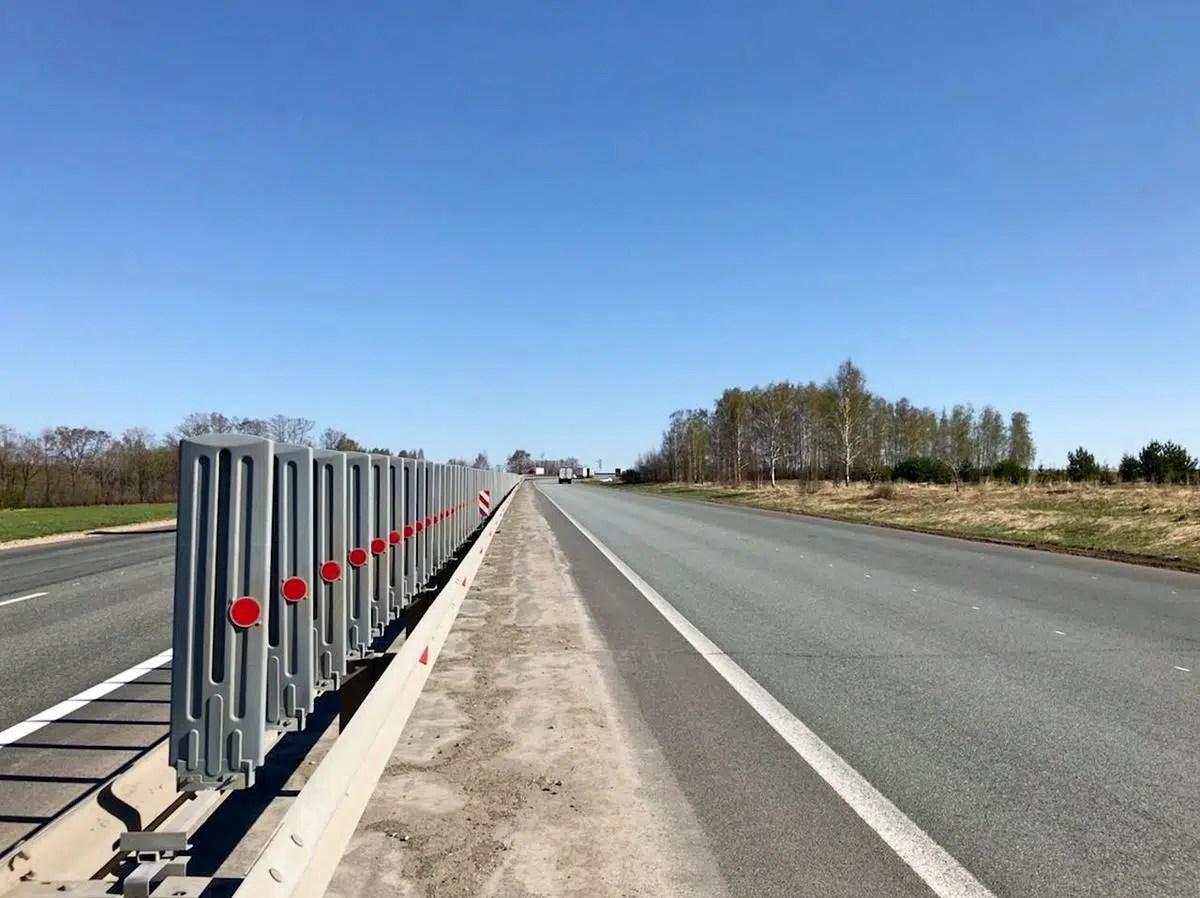 На южной объездной Владимира установят противоослепляющие экраны