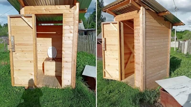 Жителям Мостостроя выставили счёт за туалетный пиар единороссов