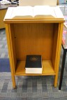 Dictionary on bookstand - Wordless Wednesday (07.31.2013), Chesnutt Library, Fayetteville State University