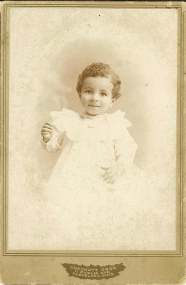 Charles Chesnutt Coll._Picture_Charles Albert Chesnutt_Age 14 months_Yr. _Unknown_Chesnutt Bros._11 Elucid Ave._Cleveland, Ohio_Scanned 9-18-07_elv
