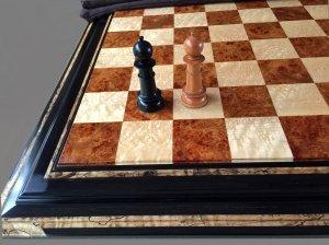 Amboyna Burl Chessboard