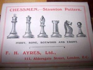 Ayres Chessmen Ad