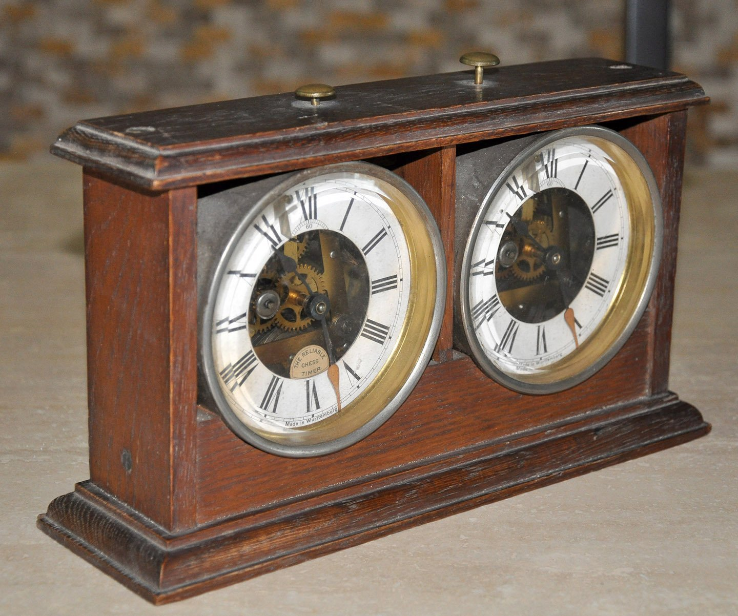 Tanner antique chess clock chessantiques tanner hastings clock amipublicfo Choice Image