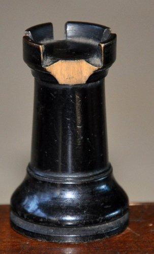 "British Chess Company Popular Staunton Chess Set, 3-1/2"" King"
