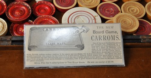 Antique Ivory Carrom Board Game Rules