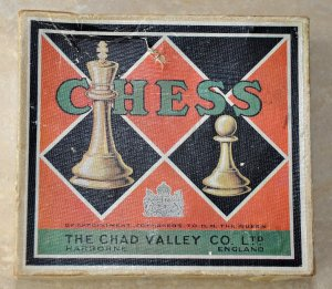 Chad Valley Plastic Chessmen