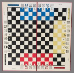Fouray Four Handed Chessboard