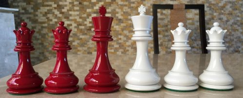 British Chess Company Ivory Staunton Chessmen