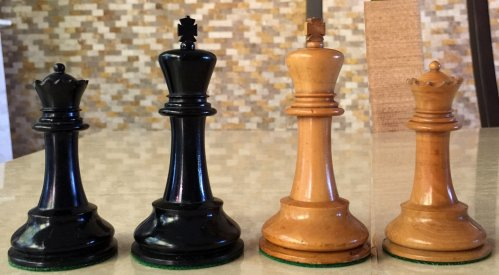 aques Staunton Chessmen, Small Club Size