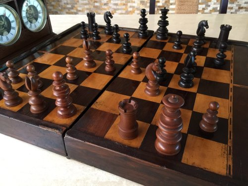 John Calvert Tournament Chessmen