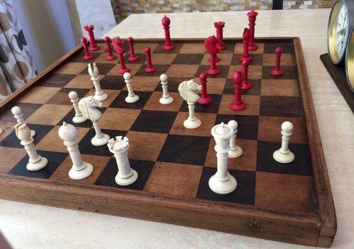 Northern Upright Bone Chessmen