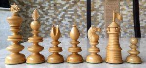 Reproduction Thomas Lund 1820 Chessmen