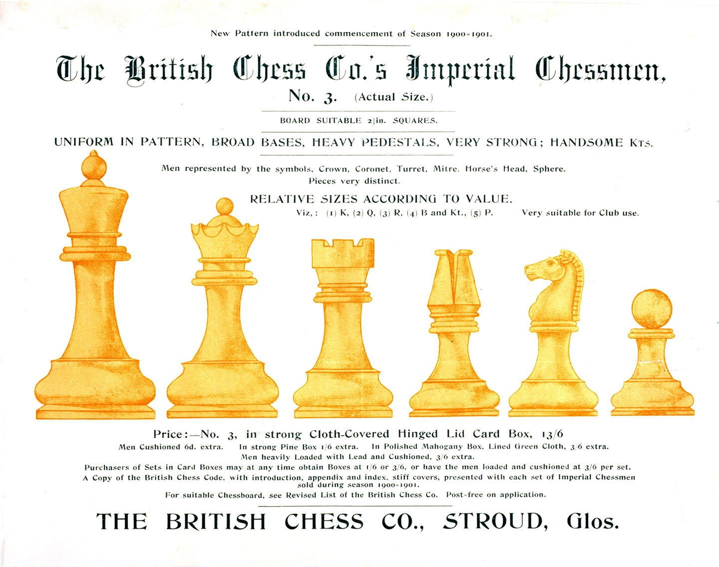 British chess company imperial chessmen chessantiques british chess company imperial chessmen biocorpaavc Gallery