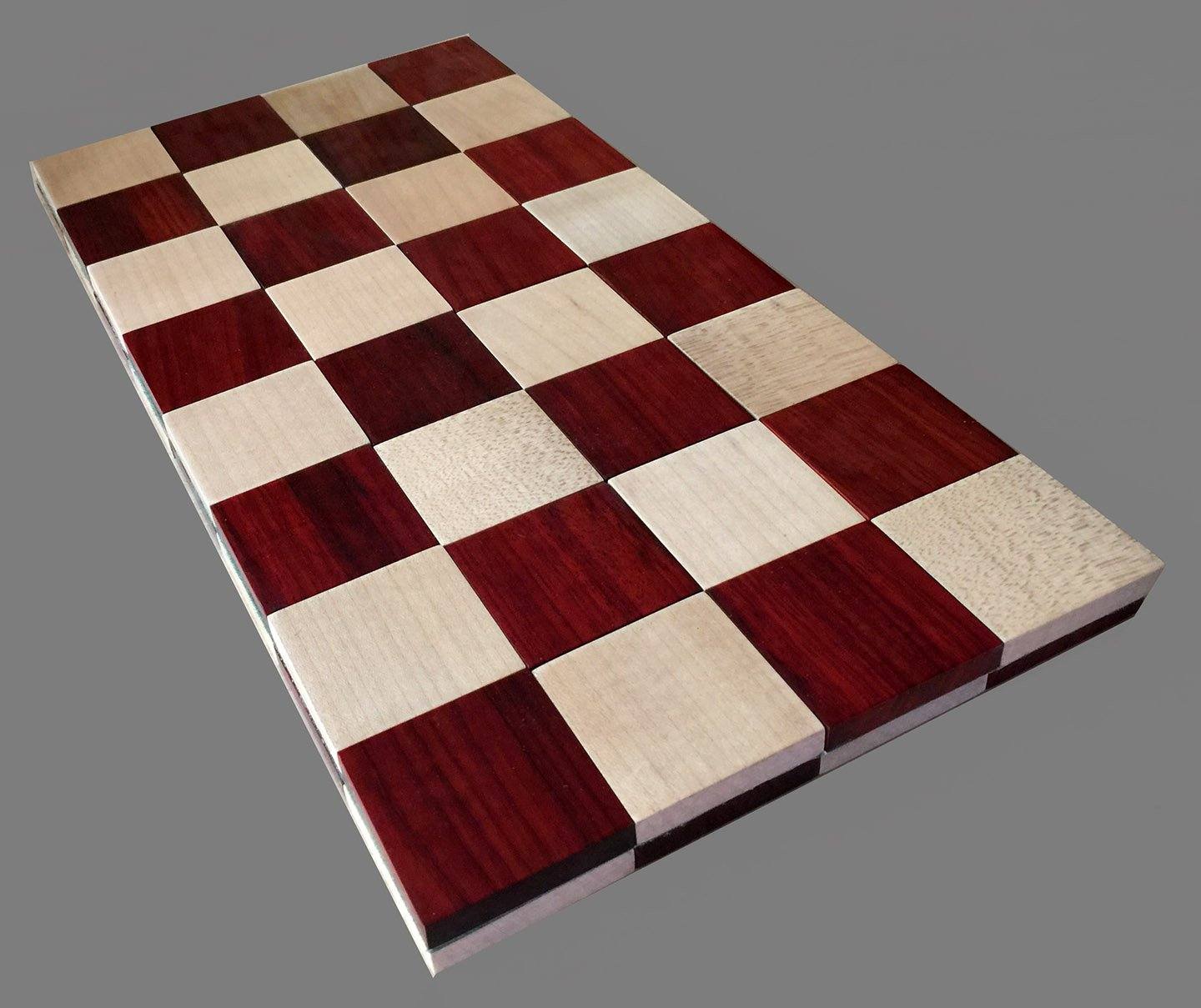 Roll Up Folding Wooden Chessboard