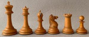 Jaques Anderssen Staunton Chessmen