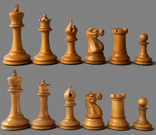 Reproduction Anderssen Style Staunton Chessmen