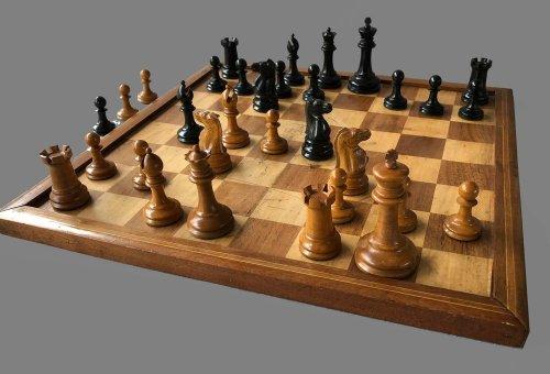 Jaques Unweighted Zukertort Chessmen