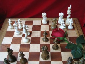 Mammoth Flower Chessmen.