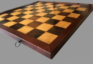 Antique Jaques Style Chessboard