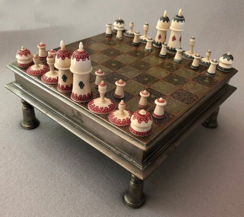 Antique Muslim Chess Set