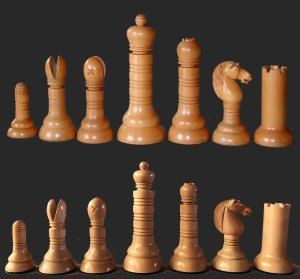 George Merrifield Philidor Chessmen